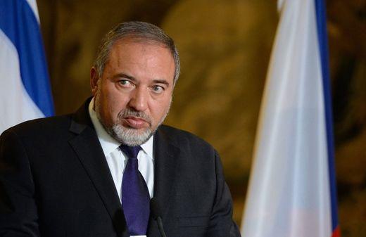 AUßenminister Israel Avigdor Lieberman