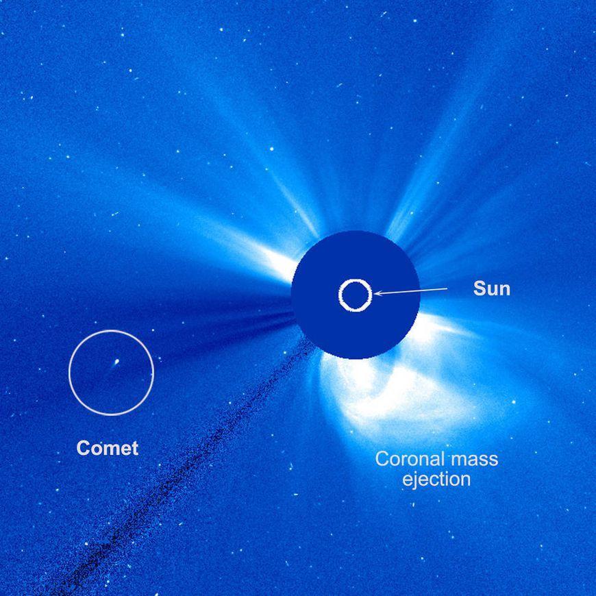 Neue und unbekannte kometenart im sonnensystem entdeckt bewegt sich