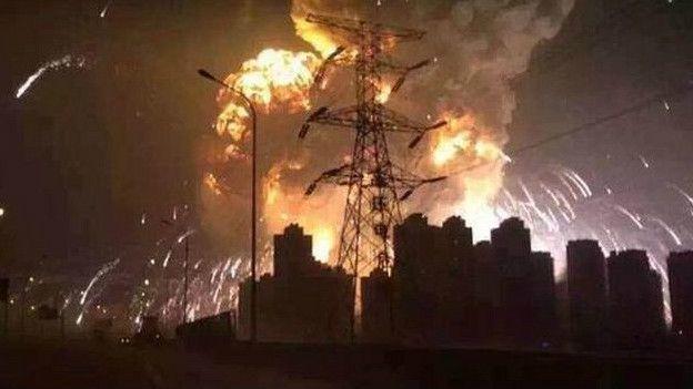 strafe nukleare explosion