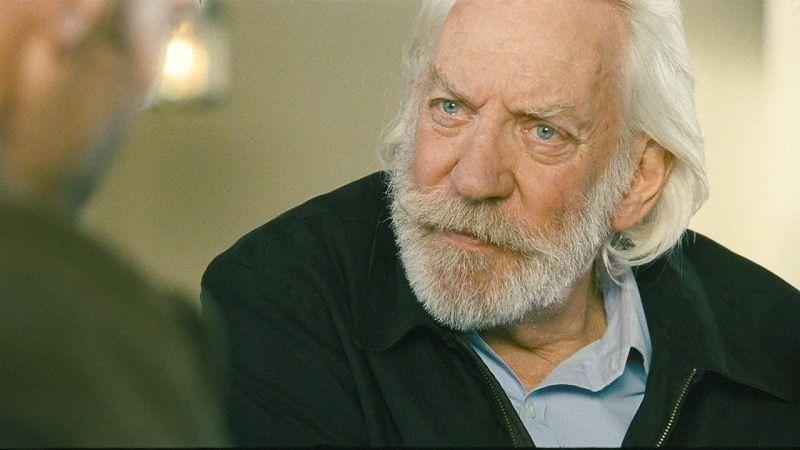 """Schauspieler Donald Sutherland: """"Hunger Games ist Gleichnis für die Hintergrundmächte dieser Welt"""""""