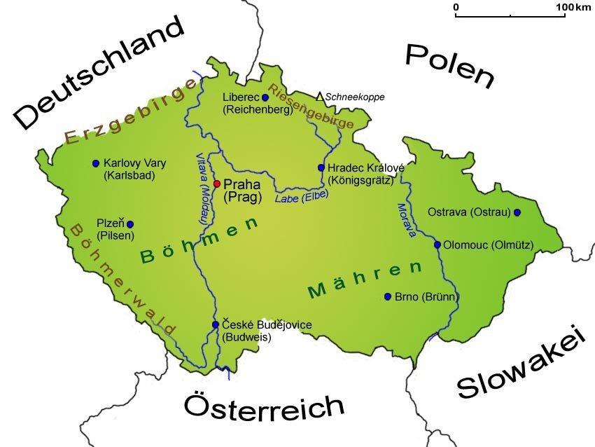 tschechien oder tschechische republik