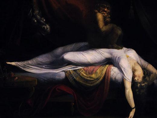 Der Albtraum, Ölgemälde von Henry Fuseli (1781)