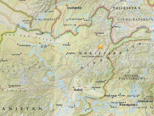 M6.1 Earthquake in Afghanistan tremors felt in Dehli