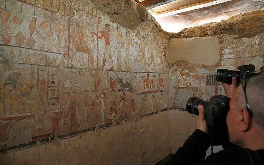 Grab der ägyptischen Priesterin Hat Bet