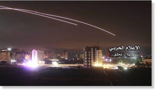 Syrian air defenses Israeli attack