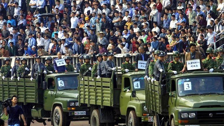 Hinrichtung China Video
