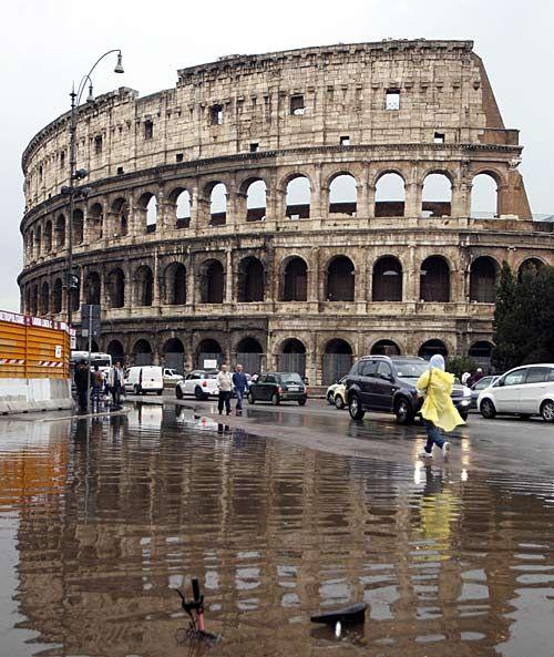 überschwemmung Italien