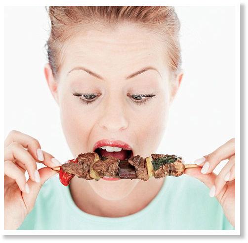 Die Diät für die Abmagerung zu bestellen