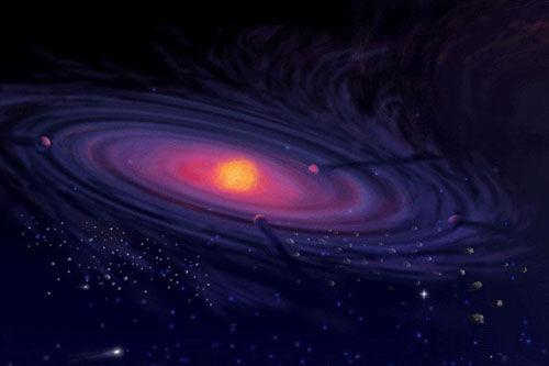 Zweite Sonne Im Sonnensystem