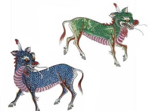 Qilin, Einhorn, Korea, China