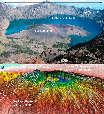 Vulkan Samalas