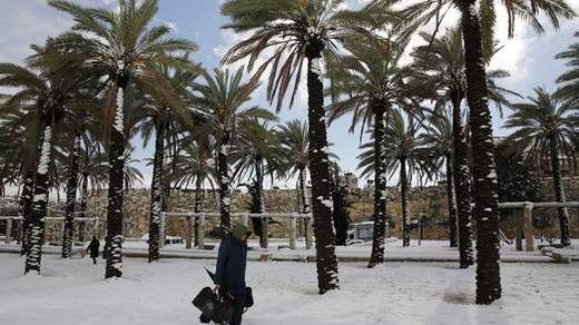 schnee ägypten