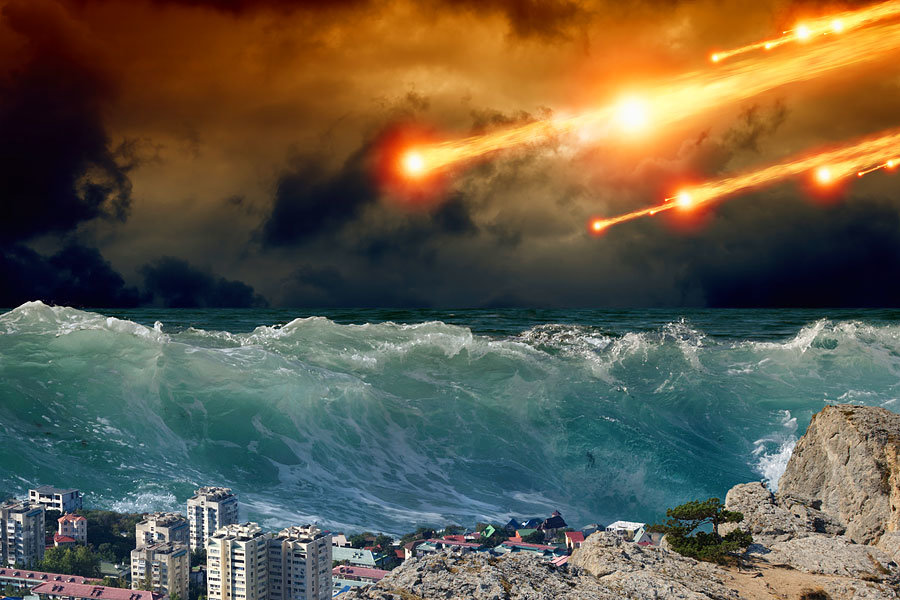 Höchster Tsunami Der Welt
