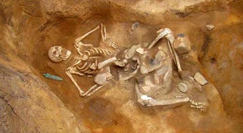 Riesen Skelette Gefunden