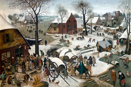Pieter Brueghel the Younger - Census at Bethlehem (Winter)