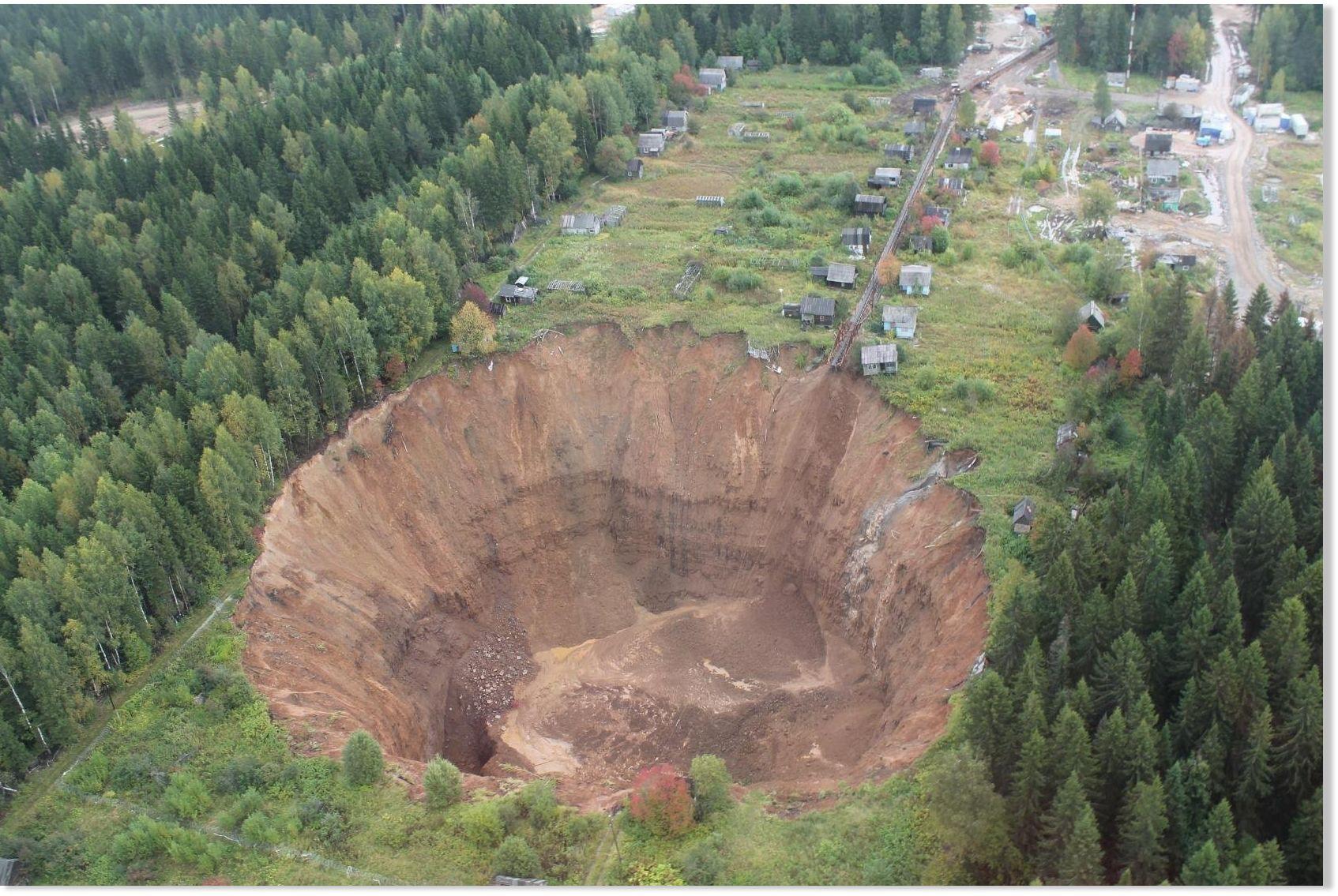 Krater Sibirien