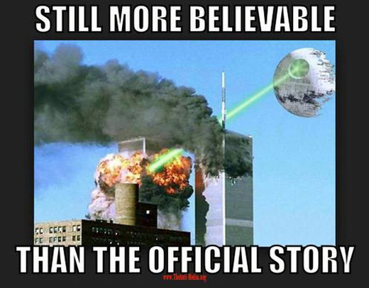 9/11 deathstar twin towers still more believable than the official story