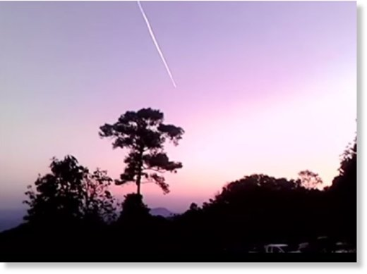 A fireball in Lampang.