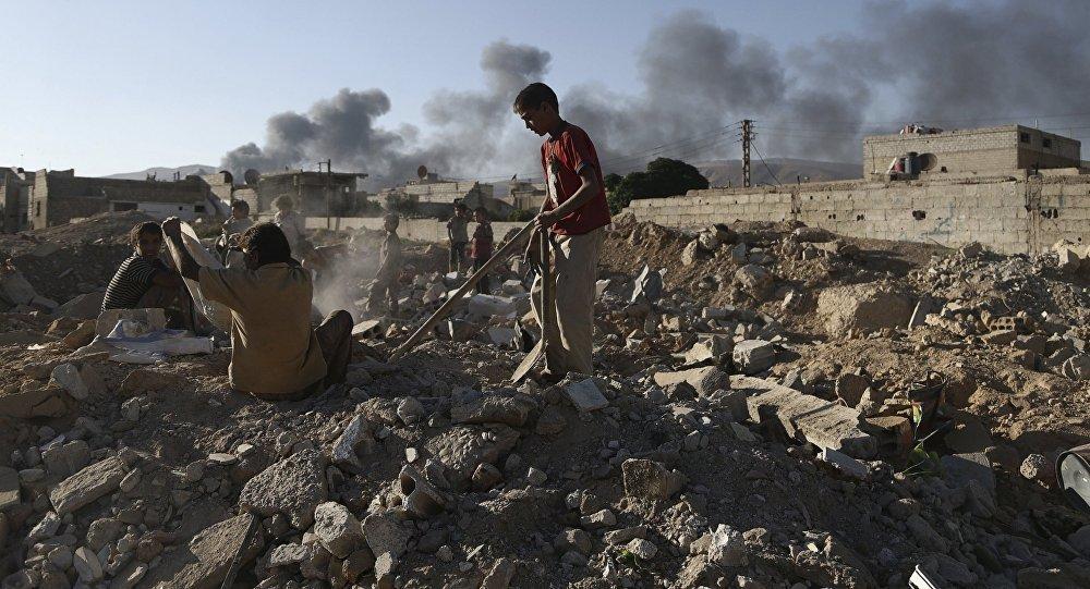 Russen Kämpfen In Syrien