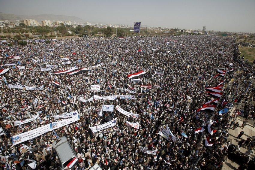 Gemeinsam Gegen Die Tyrannische Saudi Arabische Aggression