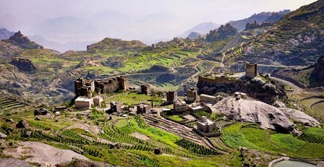 Haraz Mountains Jemen