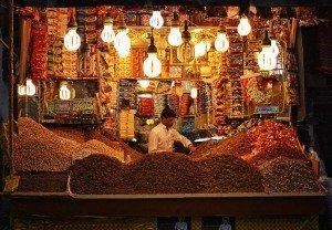 Marktstand in Sana'a
