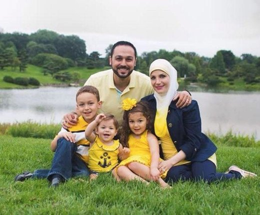 muslim family flight
