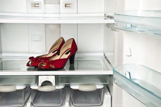 Kühlschrank Organizer : Seltsame krankheit betroffene stellen schuhe in den kühlschrank