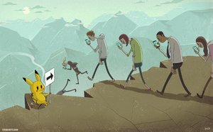 pokemon karikatur, steve cutts