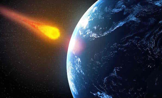 comet strike earth, asteroid