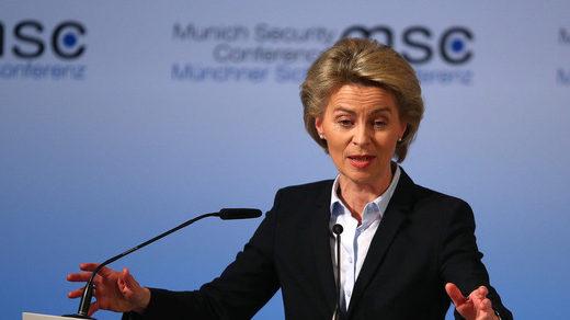 Ursula von der Leyen Sicherheitskonferenz München