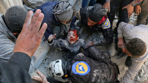 WHite Helmets Aktion