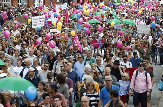 Demo G20 Hamburg