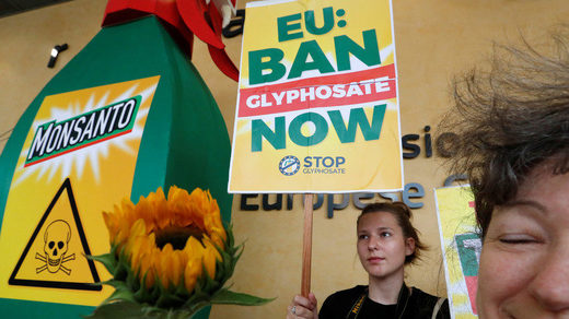 Protest Monsanto Glyphosat