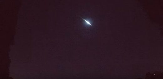 Central Florida fireball