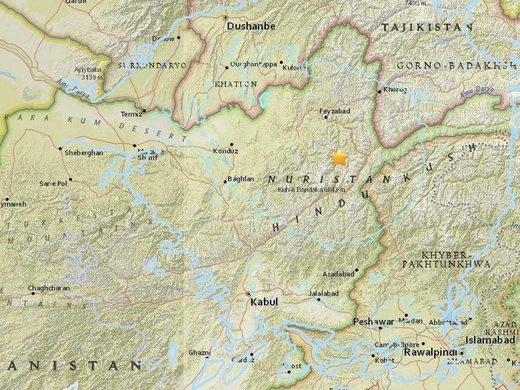M6.1 Earthquake in Afghanistan tremors felt in Dehli