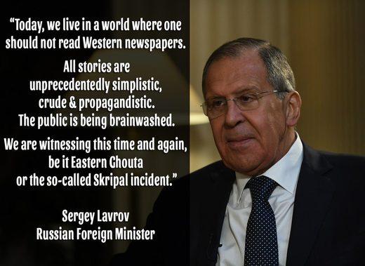 Lawrow Zeitung