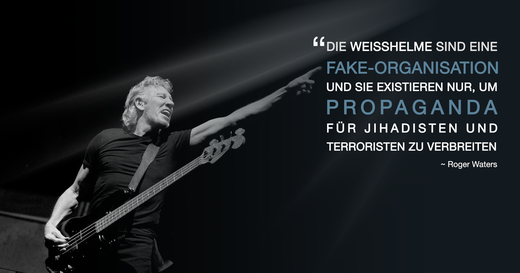 roger waters, weißhelme