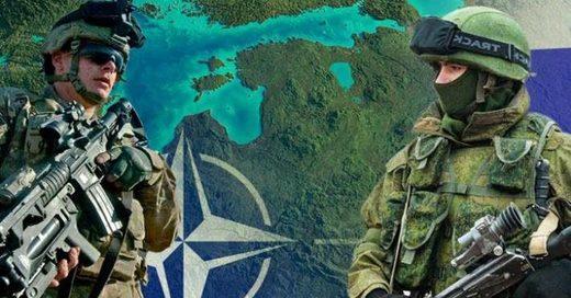 Russia NATO soldiers