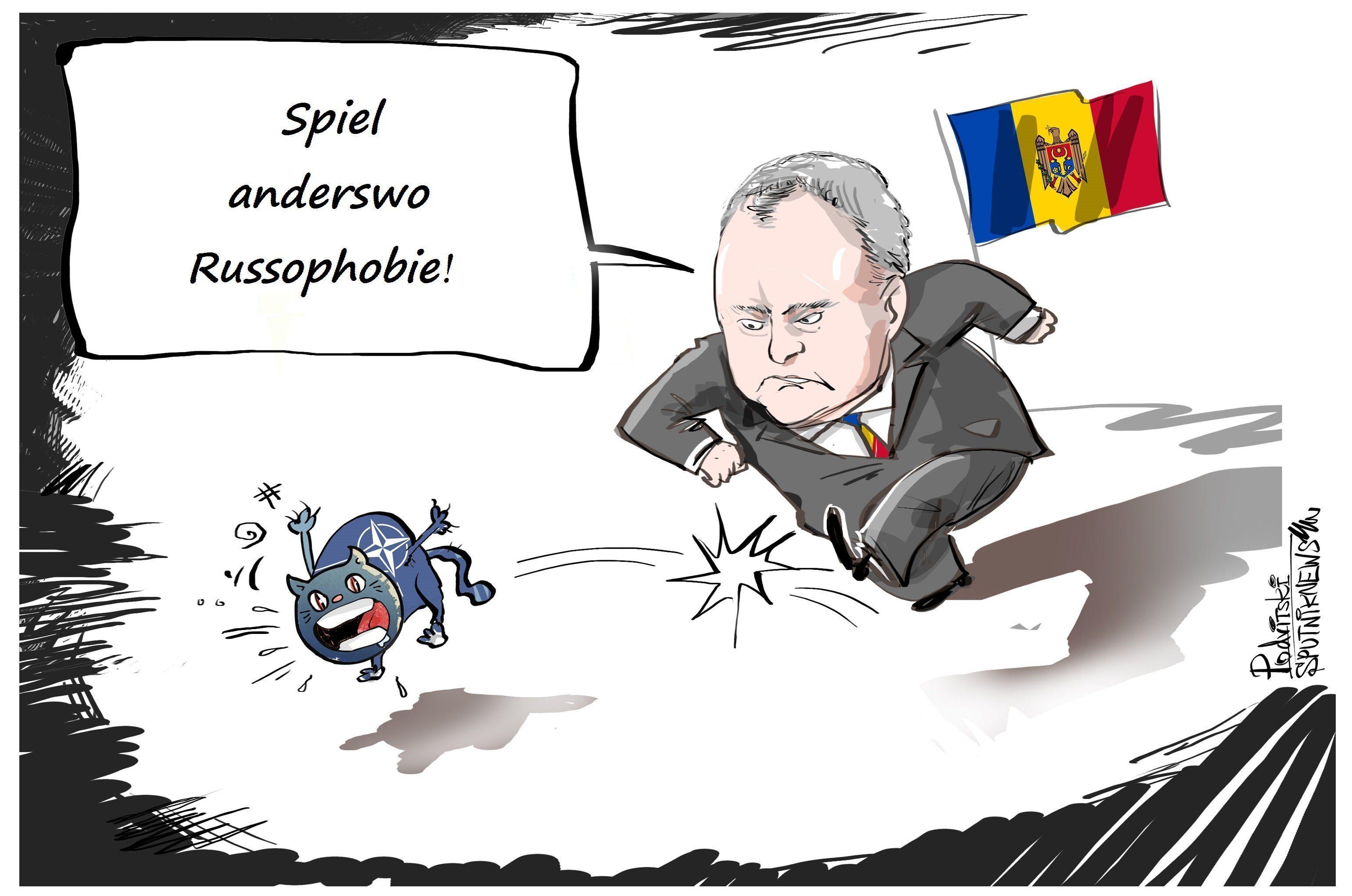 Moldawiens Prasident Nato Buro Wird Geschlossen Wir Sind Kein
