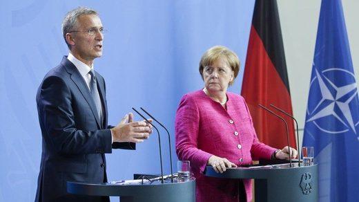 NATO Merkel