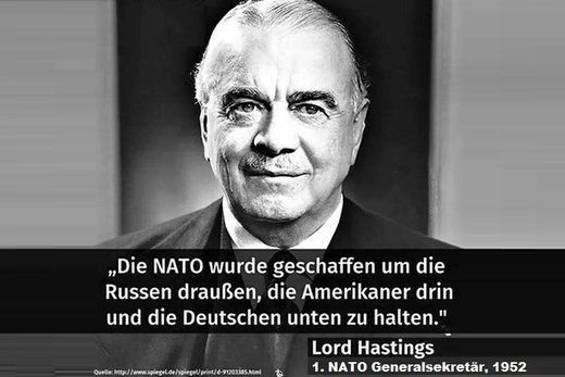 NATO Aussage Lord Hastings