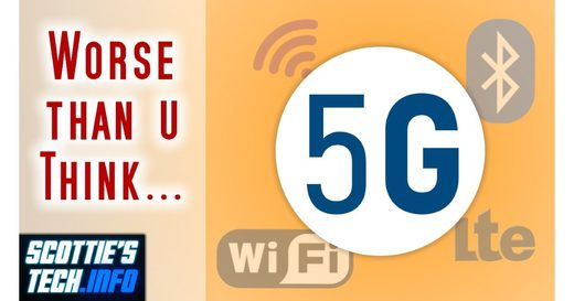 5G, 4G, WiFi, and Bluetooth are bad for your health