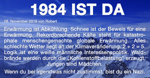 1984, pic of the day, bild des tages