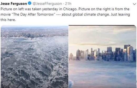 Chicago freezes