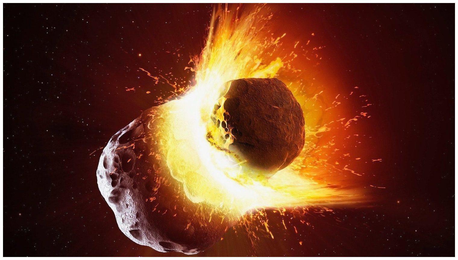 Asteroideneinschlag Erde