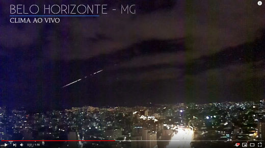 brazil meteor fireball april 26th 2019