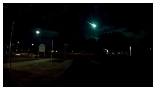Fireball over Australia