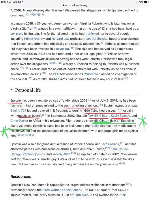 Wiki Clinton Epstein