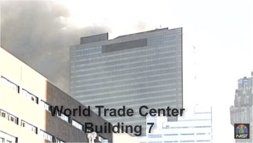 brennendes WTC 7